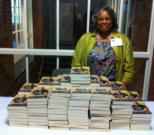 Book signing event in Boston for  Beyond The Down Low .