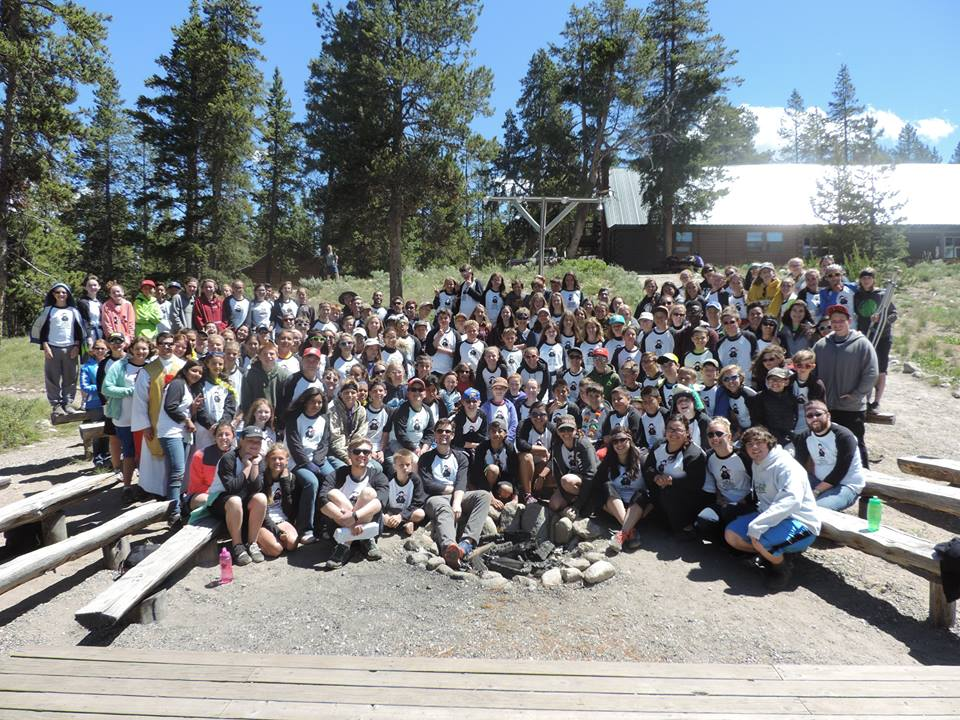 Camp - A week out in the woods with good food, great people, and an even greater God.