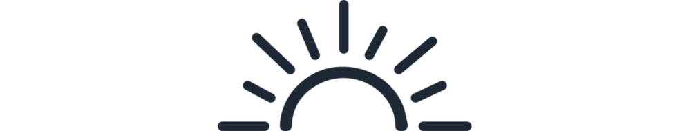 Tide Marketing Sun Icon