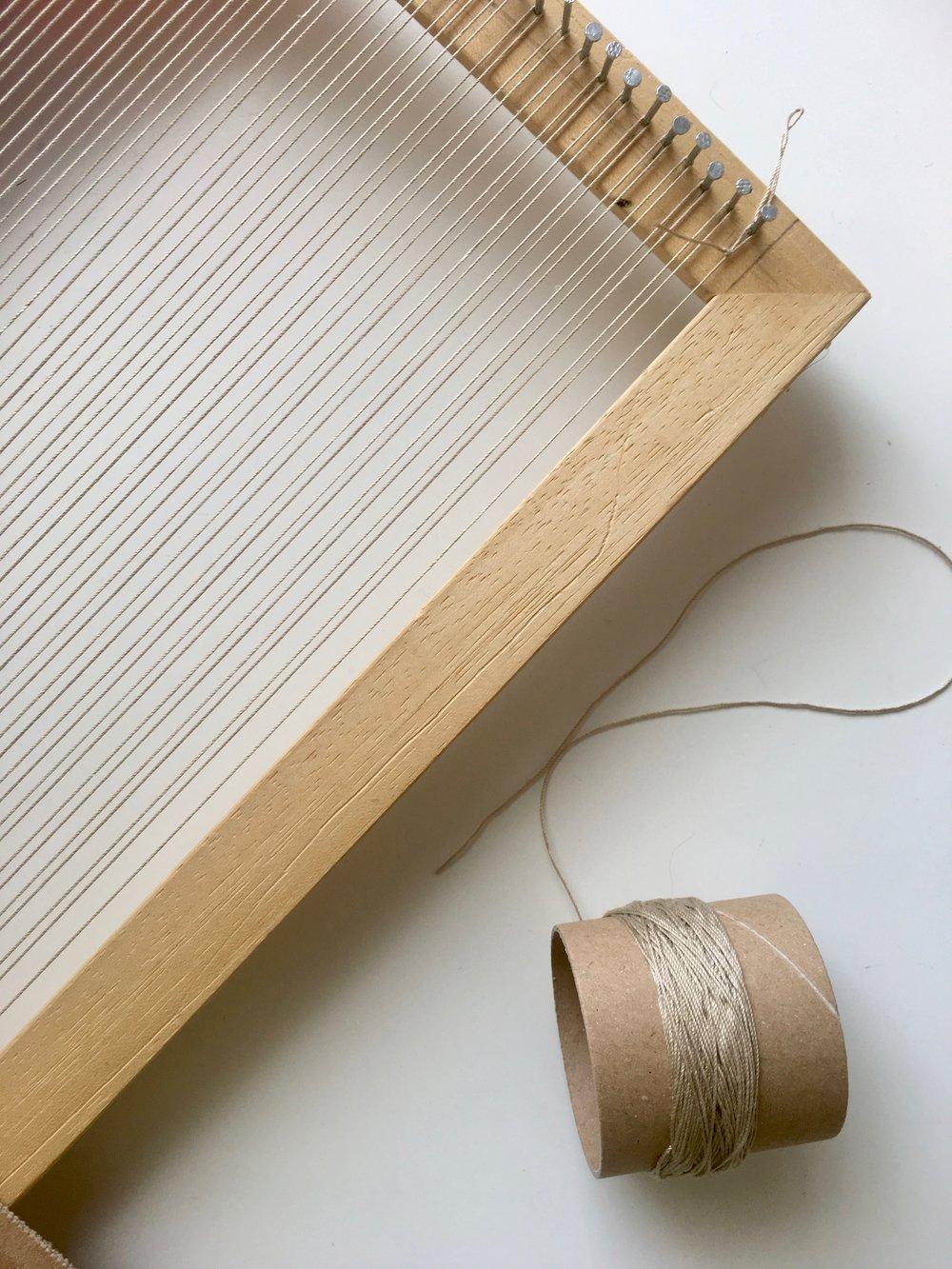 essential weaving tools warp yarn