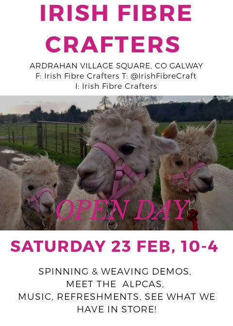 Irish Fibre Crafters Opening Day