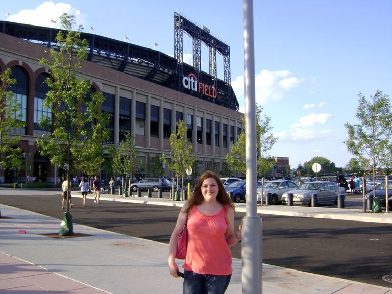 Me outside Citifield before the big show