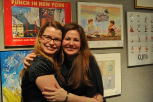 With MY publicist (I still giggle that I have a publicist), the fabulous Sheila Marie Everett at Scholastic!