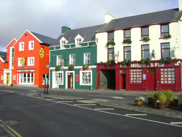 Downtown Dingle (which is basically two streets!)