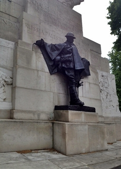 Charles Sargeant Jagger, Royal Artillery Memorial (detail), 1925, Hyde Park Corner, London SW1
