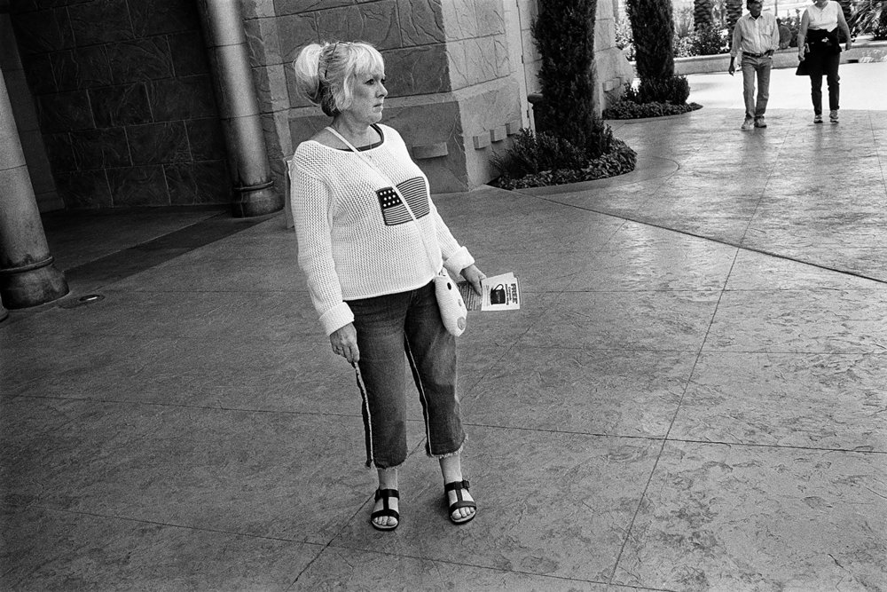 Outside Aladdin Casino, Las Vegas, 2003