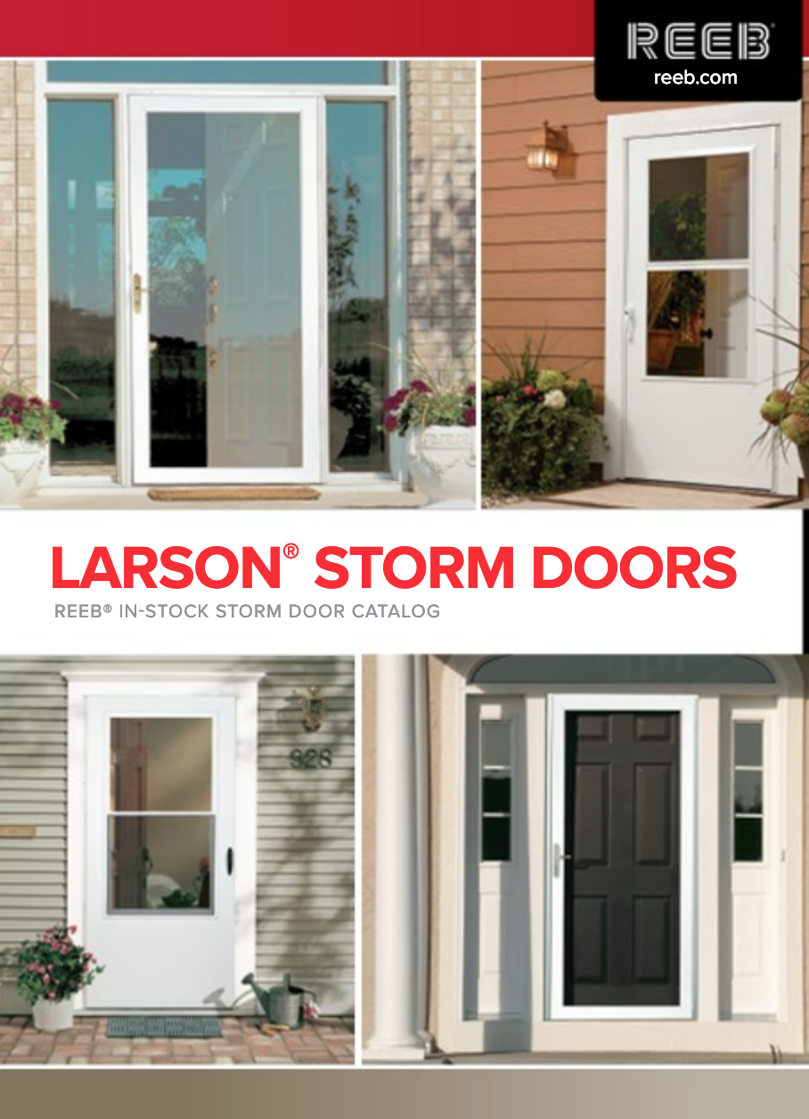 When it comes to manufacturing storm doors for your home, nobody does it better than Larson Storm Doors. For over 65 years, this family owned company has been providing homeowners with a variety of storm doors to protect and compliment their entry doors.