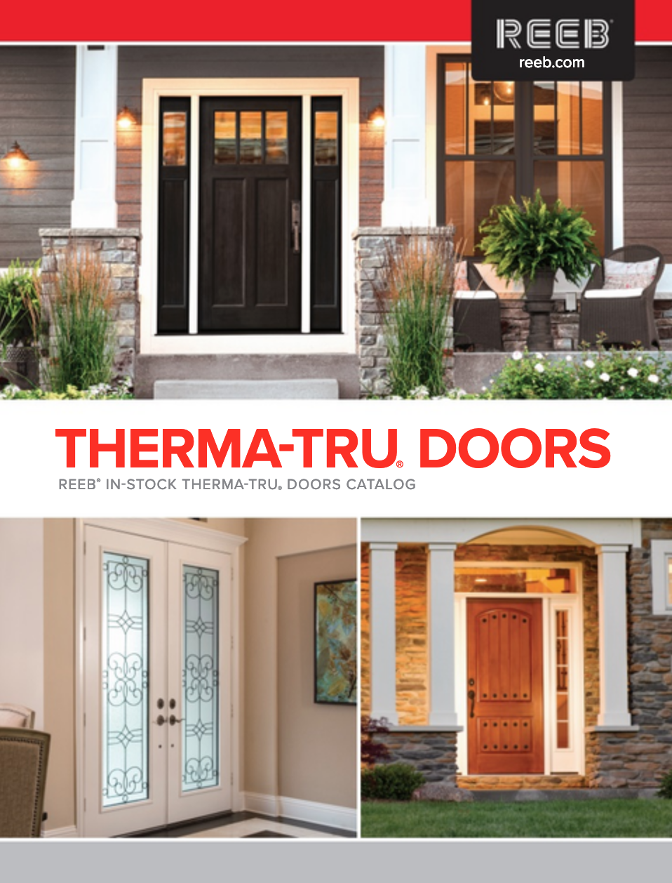 Choosing a Therma-Tru® door means designing an inspired entrance with the confidence that it will perform for years to come. Whether it's Classic or Contemporary, or somewhere in between, Therma-Tru offers a wide selection to complement the architecture of your home and your sense of style…while providing you the best warranties in the industry. This is what makes Therma-Tru the brand building professionals prefer most. With a complete door system engineered with craftsman precision and backed by more than 50 years of industry experience, you can be confident that it will perform as exceptionally as it looks.