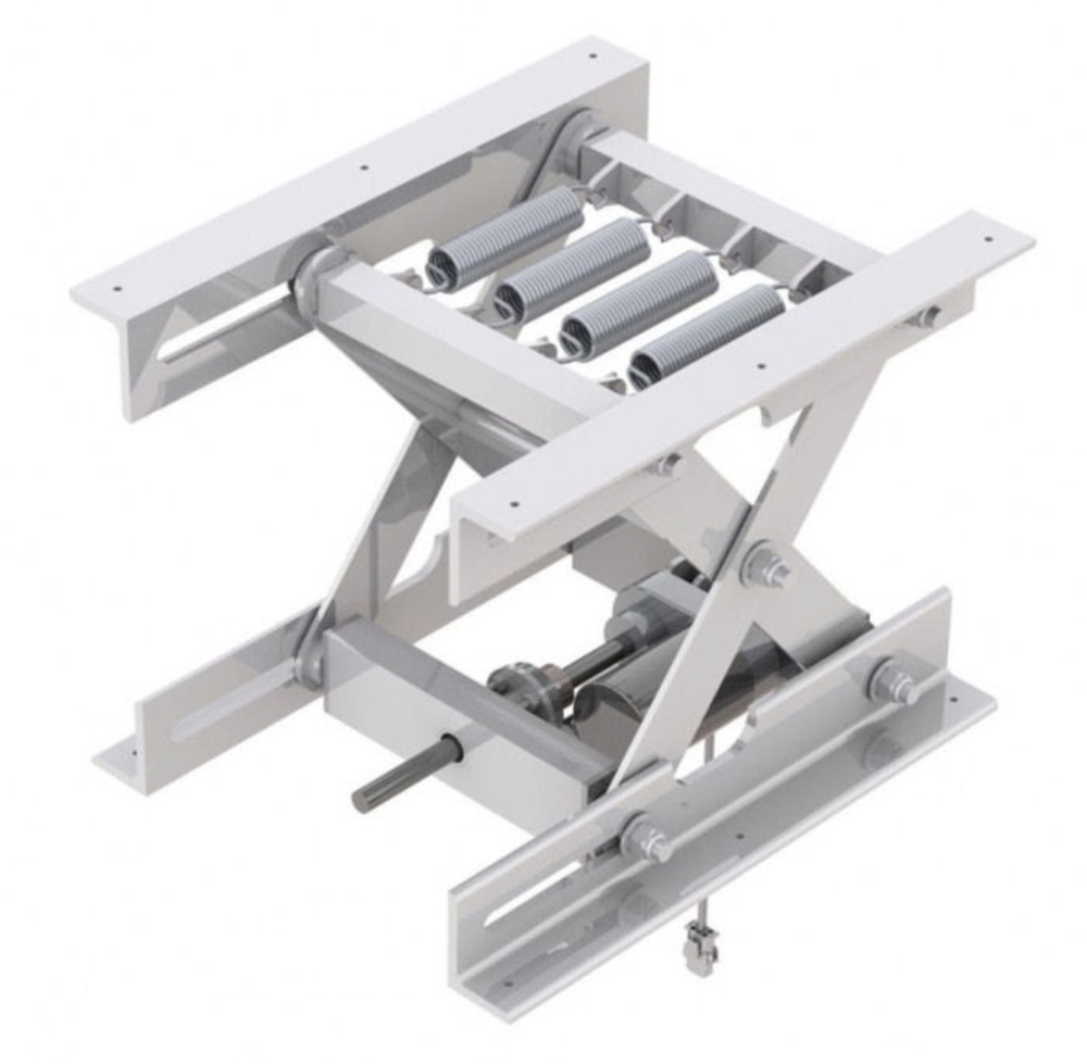 Actuated Aluminum Lifting Mechanism