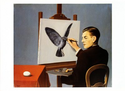 Magritte exhibition paris painting