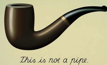 English Magritte exhibition This is not a pipe