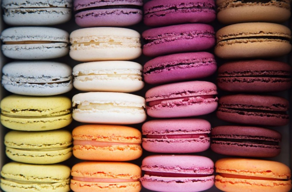 Macarons photo for best local restaurants in Paris post