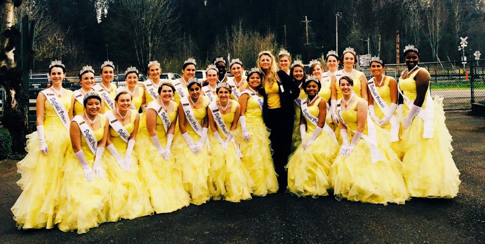 March - Daffodil PrincessesOur day got just a little bit brighter, when 24 lovely Daffodil princesses showed up on our doorstep to help us with assembling Welcome Home bags for new moms. The Princesses formed a very long and very yellow assembly line and filled our bags with needed supplies for our moms and babies. They did it all with a smile and while dressed in their long yellow Daffodil formals and gloves. Now, that's talent!They were also treated to some wonderful stories about the Van Lierop Bulb Farm from Mr. Neil Van Lierop, which included a tour of the site. We are very thankful for all of their help and for their hearts to serve at Step By Step.