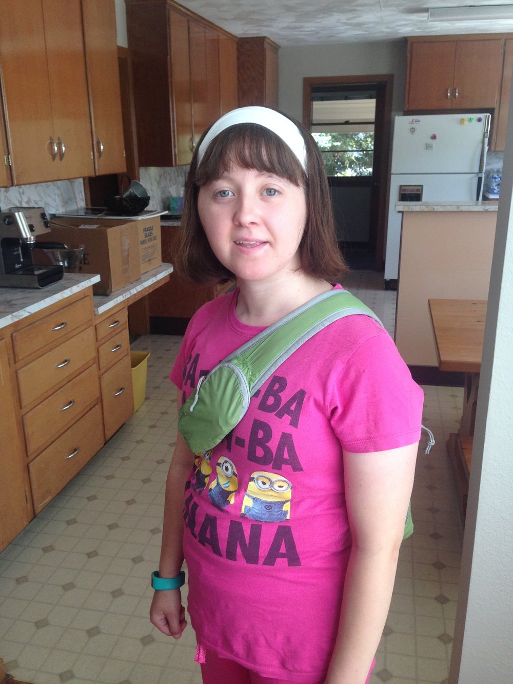 June - Kayla CushingKayla has started working with us here at Step By Step, sponsored through the Trillium organization. From bundling diaper stacks, to sorting baby clothes, putting together welcome home bags, and assembling our informational folders, Kayla always works hard and always gets the job done while keeping that great smile on her face! Thank you Kayla for all of your help, we really appreciate you!
