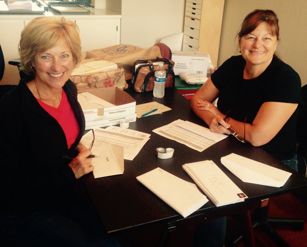 """August - Nancy Teodoro & Robbie HeathThese two ladies are affectionately called """"the dynamic duo"""" around here at Step By Step. When they come and work together, we know that whatever they get done will be done with love, care and excellence, and in record time! We knew they were winners when they still came back after serving their first day. It was a record breaking hot summer day and our upstairs baby room was more than a little bit toasty! We joked that they got their """"hot yoga"""" in for the day. They didn't complain, and they are still going strong, helping out with anything that is needed. They are proof that you can make anything fun, when you are working together with a friend for a good cause!"""
