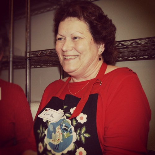 november - Loretta TrainorLoretta Trainor helped coordinate and manage the North Christmas celebration. She oversaw the kitchen and volunteers that served Christmas dinner to our families. Serving over 500 in under 3 hours is no small task, and she did it with a smile!