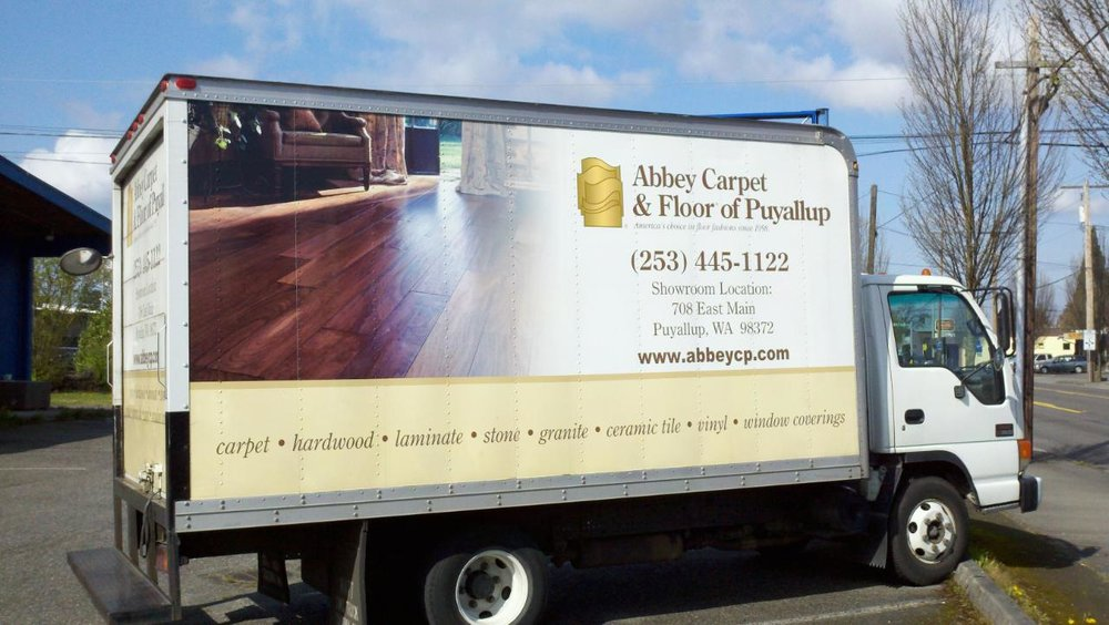 - Barry Lindgren & Abbey CarpetBarry Lindgren's Abbey Carpet Truck was used to transport items. He has used his truck on many occasions to help us move our clients.