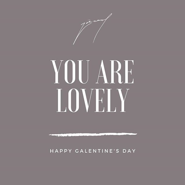 Has anyone told you lately that you really are lovely? 🥰 You have the special combination of qualities that are completely unique to you and you only. You're beautiful inside and out. Remember this always. Happy Galentine's Day to all my amazing gals who have always been by my side. 😘  #love #galentinesday #galentinesday2019 #parksandrecreation #futureisfemale #friendship #ladiescelebratingladies #leslieknope
