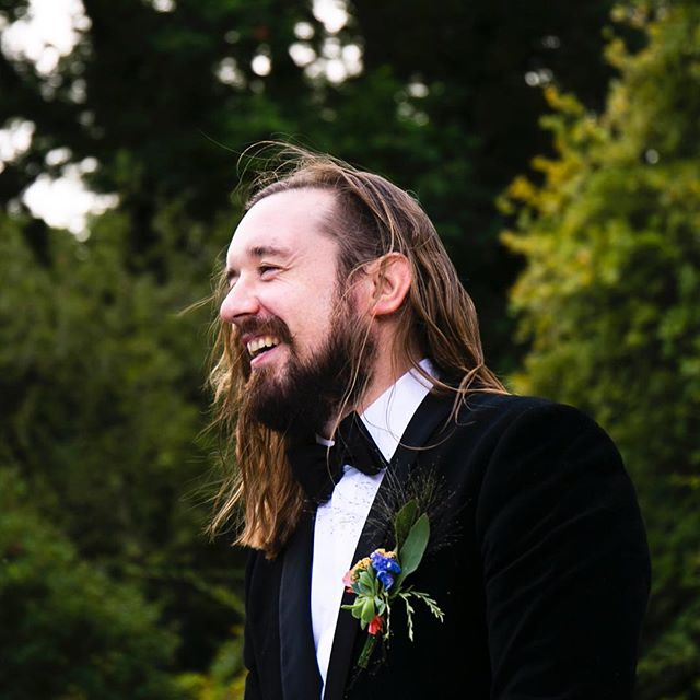 """HAPPY BIRTHDAY to my main nugget @mrpaulmahon. He's 34 years young today and his sense of fun has never wavered over the years. He's the best of the best, case in point; as I type this he's made a crying Zelda laugh with one little sentence and tickle. """"Time heals all wounds you scamp!"""". Here's to you Mr Paul Mahon! I'm proud to be Mrs Zoe Mahon Wong today and everyday x #husbandsofinstagram #hothusband #happybirthday #birthdayboy #geppetto #musician #filmmaker"""
