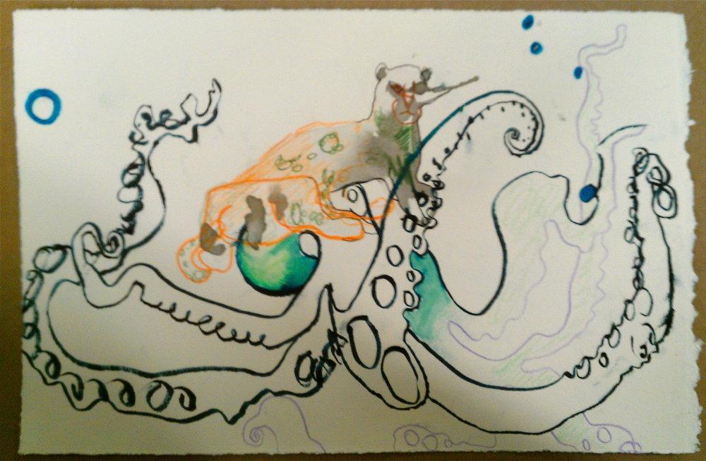 Jaguar on an Octopus.jpg