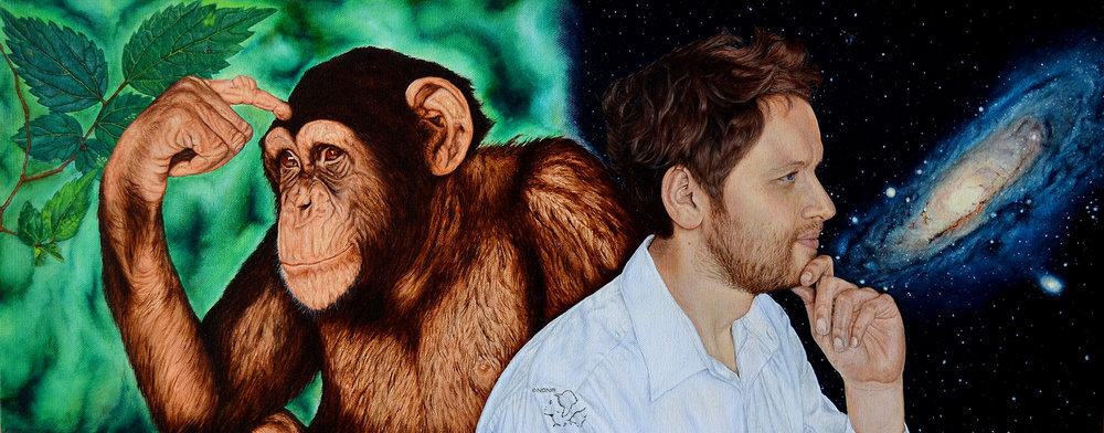 """ Evolution ""-Oil on canvas"