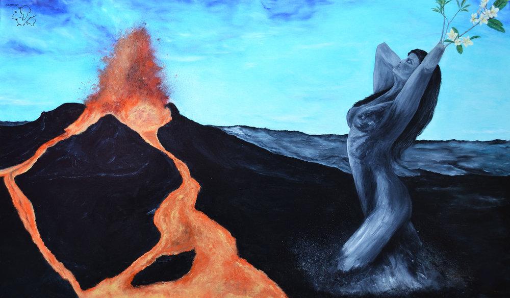 """"""" Rebirth """" -Oil on canvas"""
