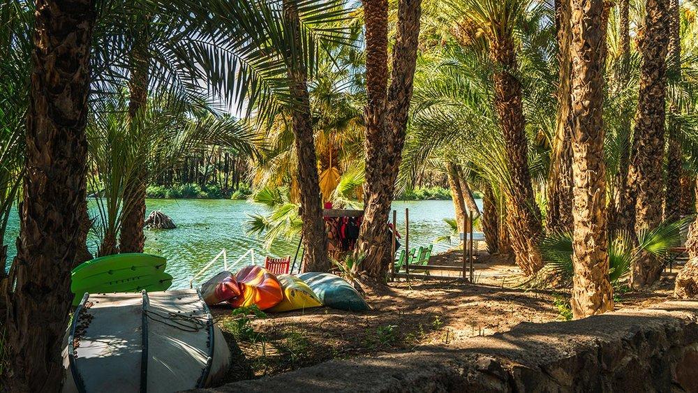 Go swim or kayak on the beautiful San Ignacio River