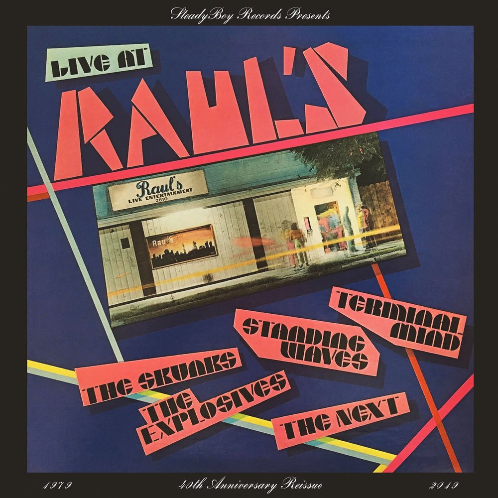 Live at Raul's 40th Anniversary Re-release Vinyl  $25.00