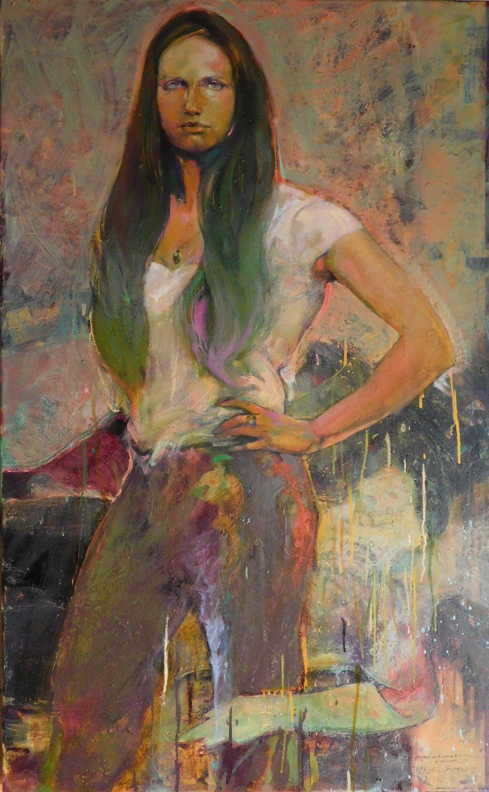 Their Fucking Bones 2011Oil on Canvas_ 2011_48x30 e.jpg