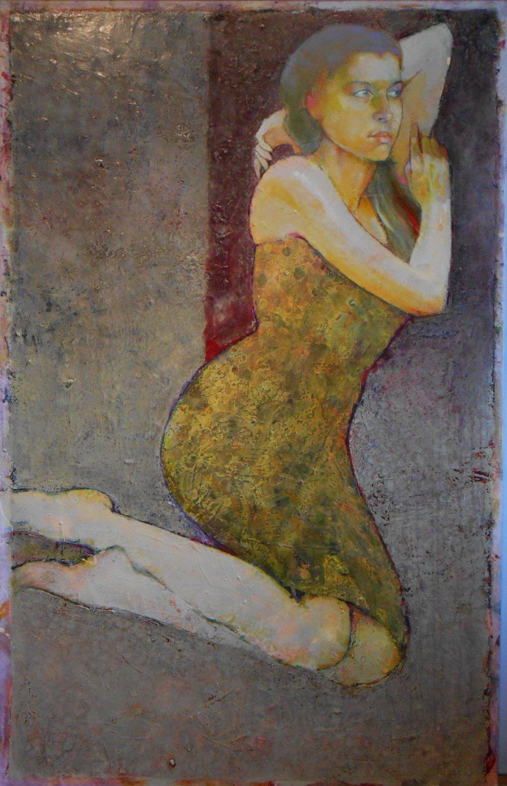 Paint 8. When_Oil on Canvas_ 2010_50x30.JPG