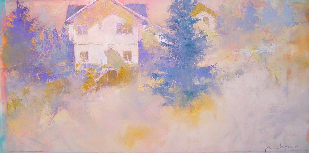 LS+14+The+Neighbors_Palette+knife+Oil+and+Canvas_2006_+18x36+sold.jpg
