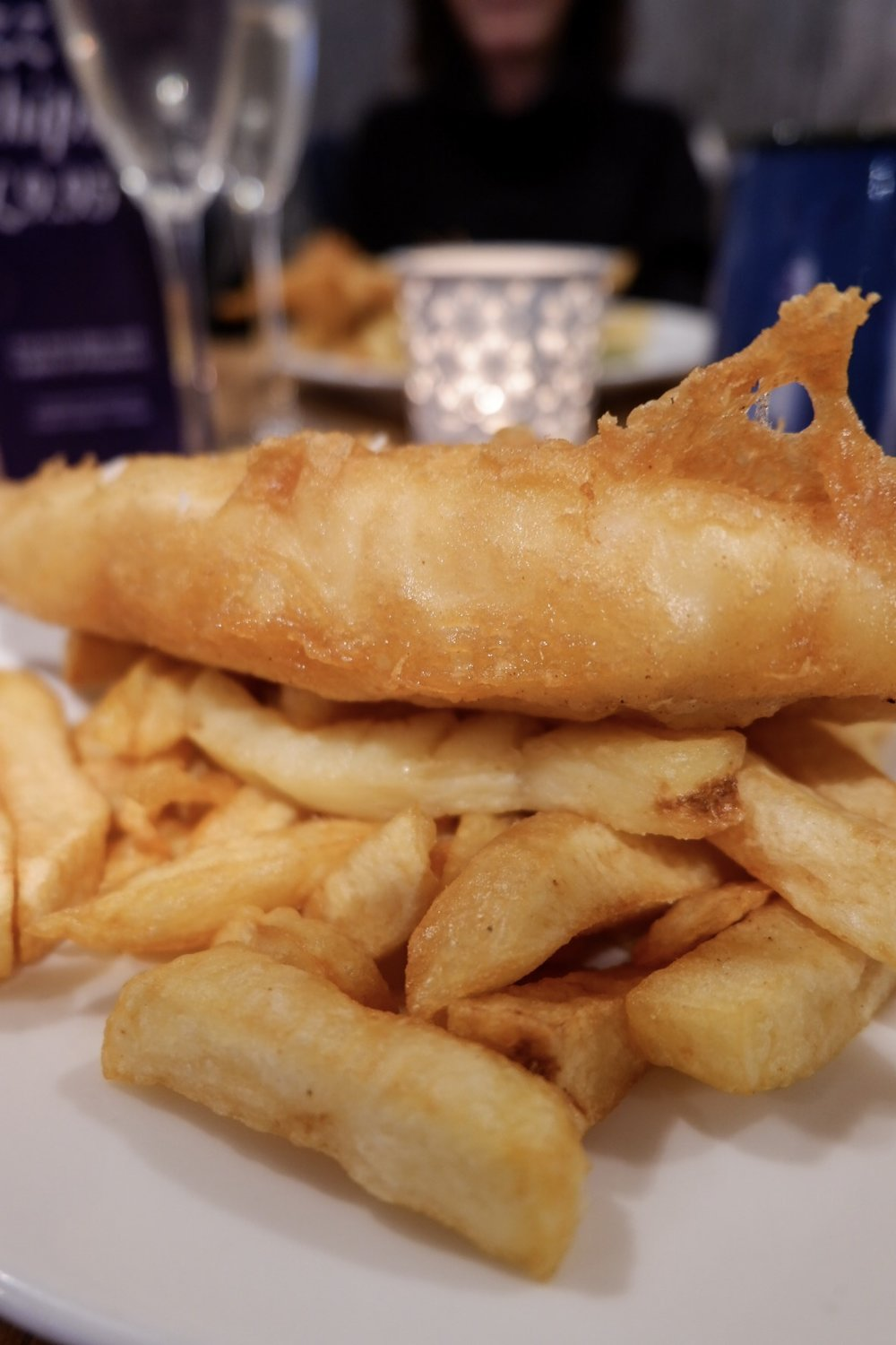 Rick Stein, fish and chips