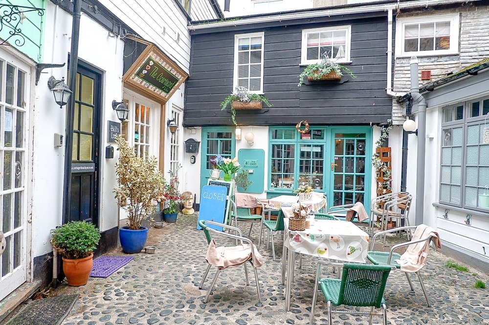 St Ives cafe, cornwall