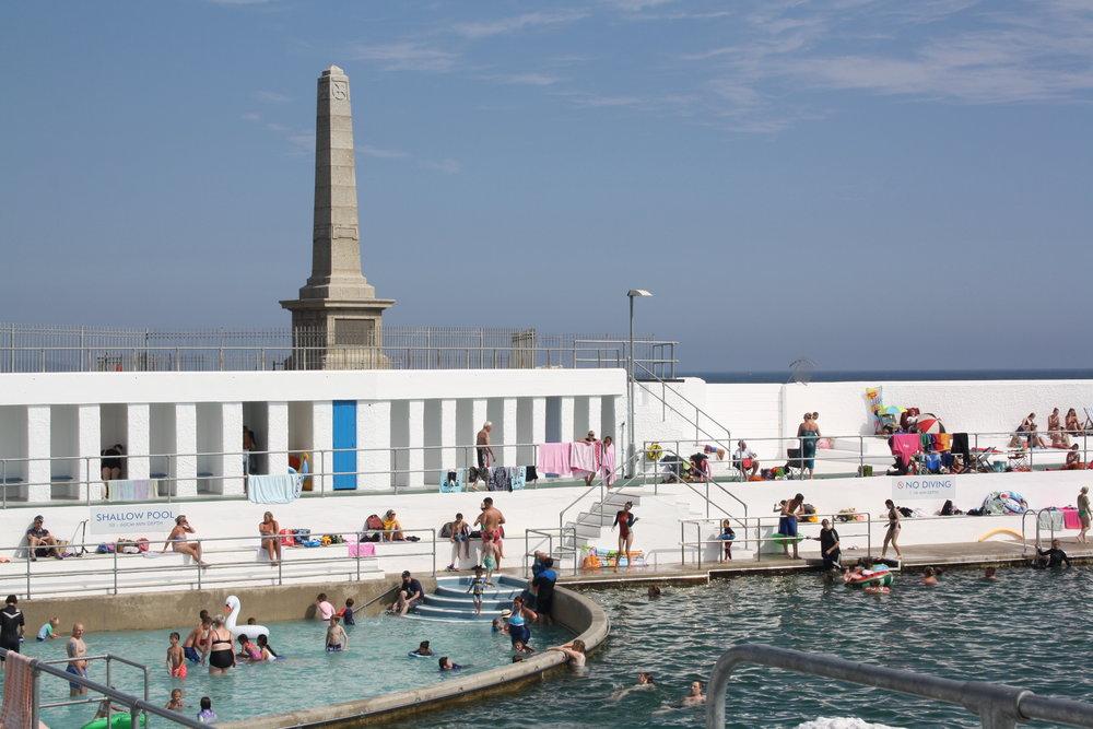 Jubilee pool, cornwall