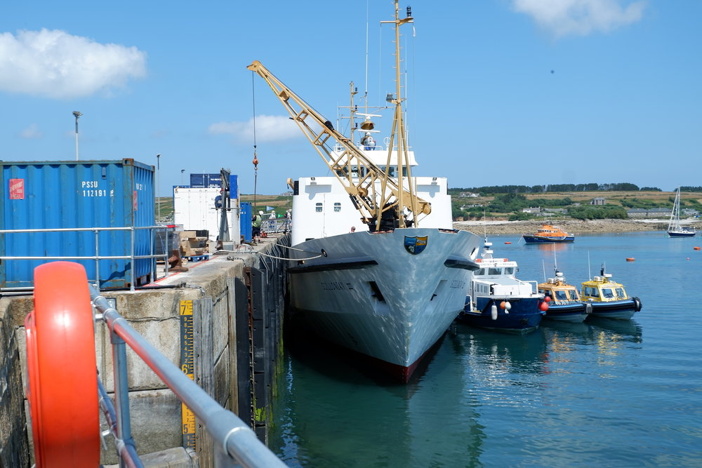 Scillonian, Isles of Scilly