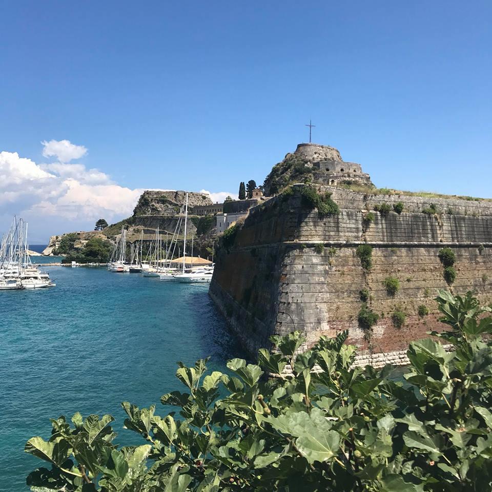 Corfu old town, Greece