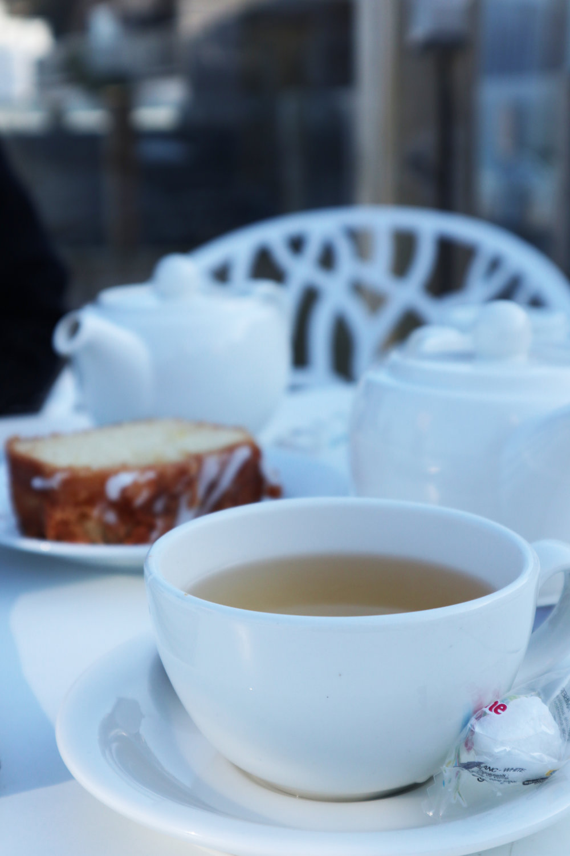 tea and cake at the carbis bay beach club