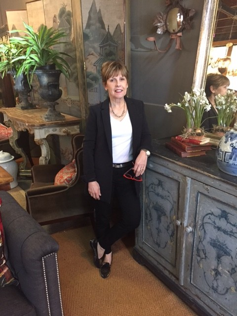 Welcome Linda Kennedy, owner of L'Entrepot (credit Adrianna Donat and courtesy of The Village Green)