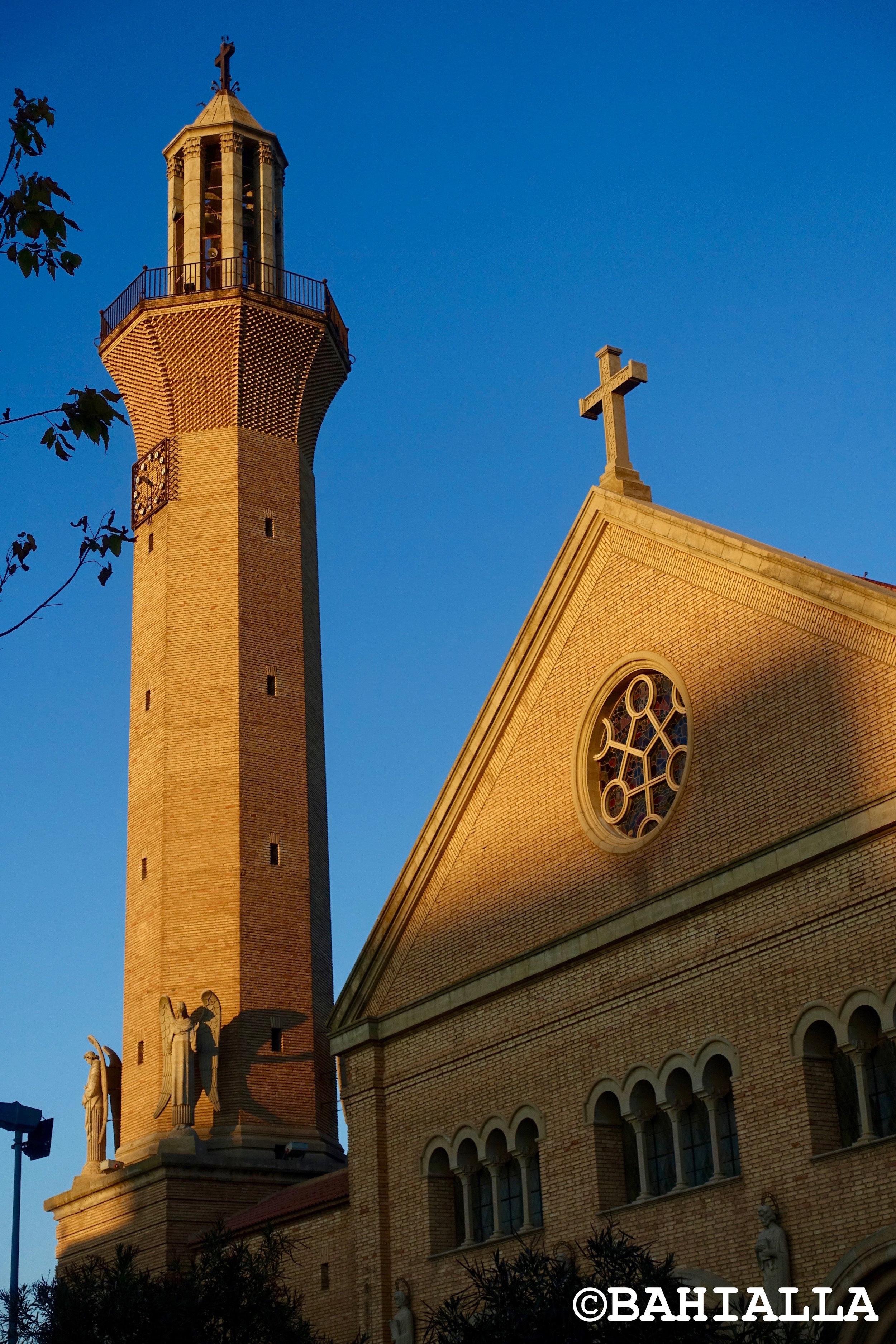 church tower belchite