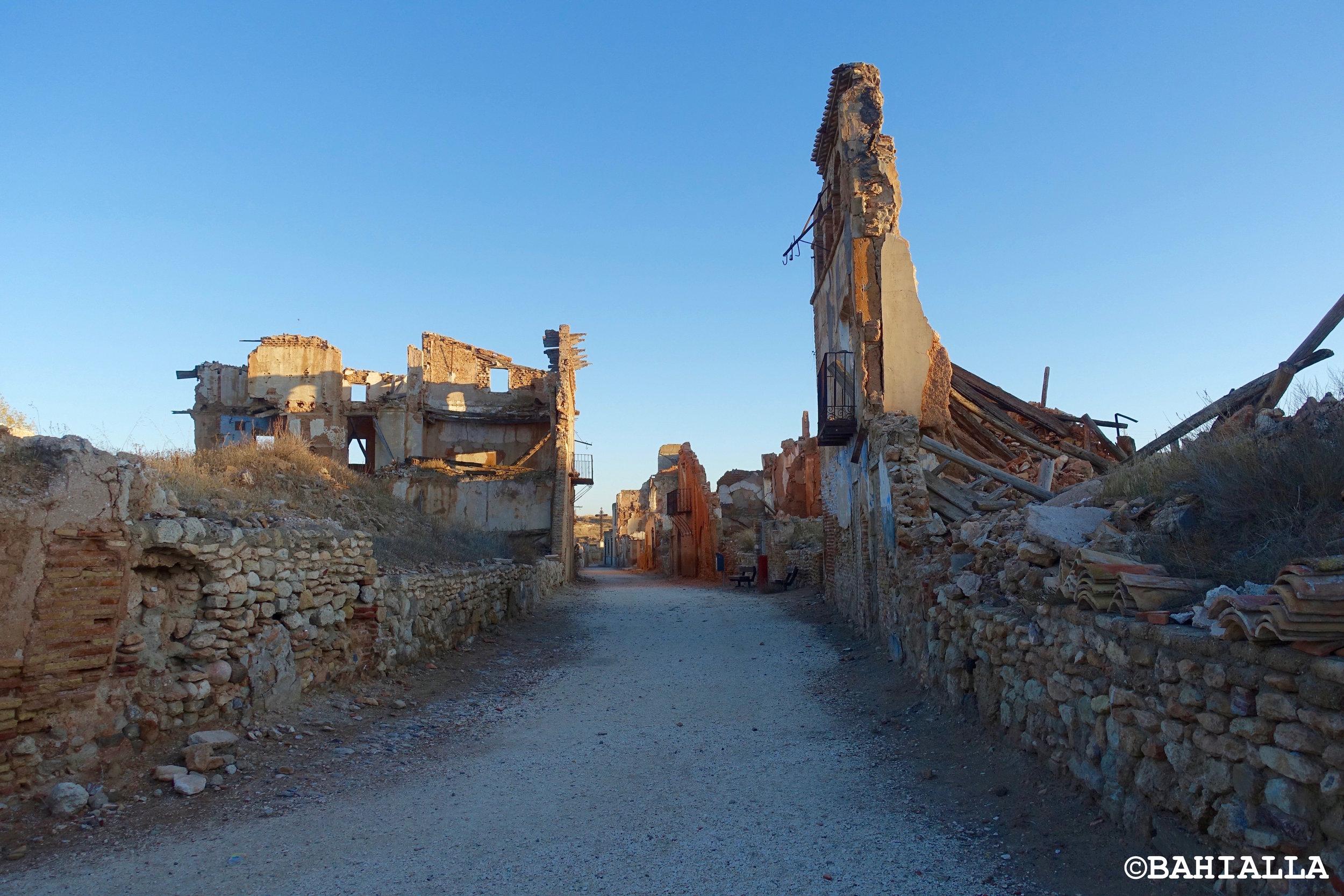 belchite ruins