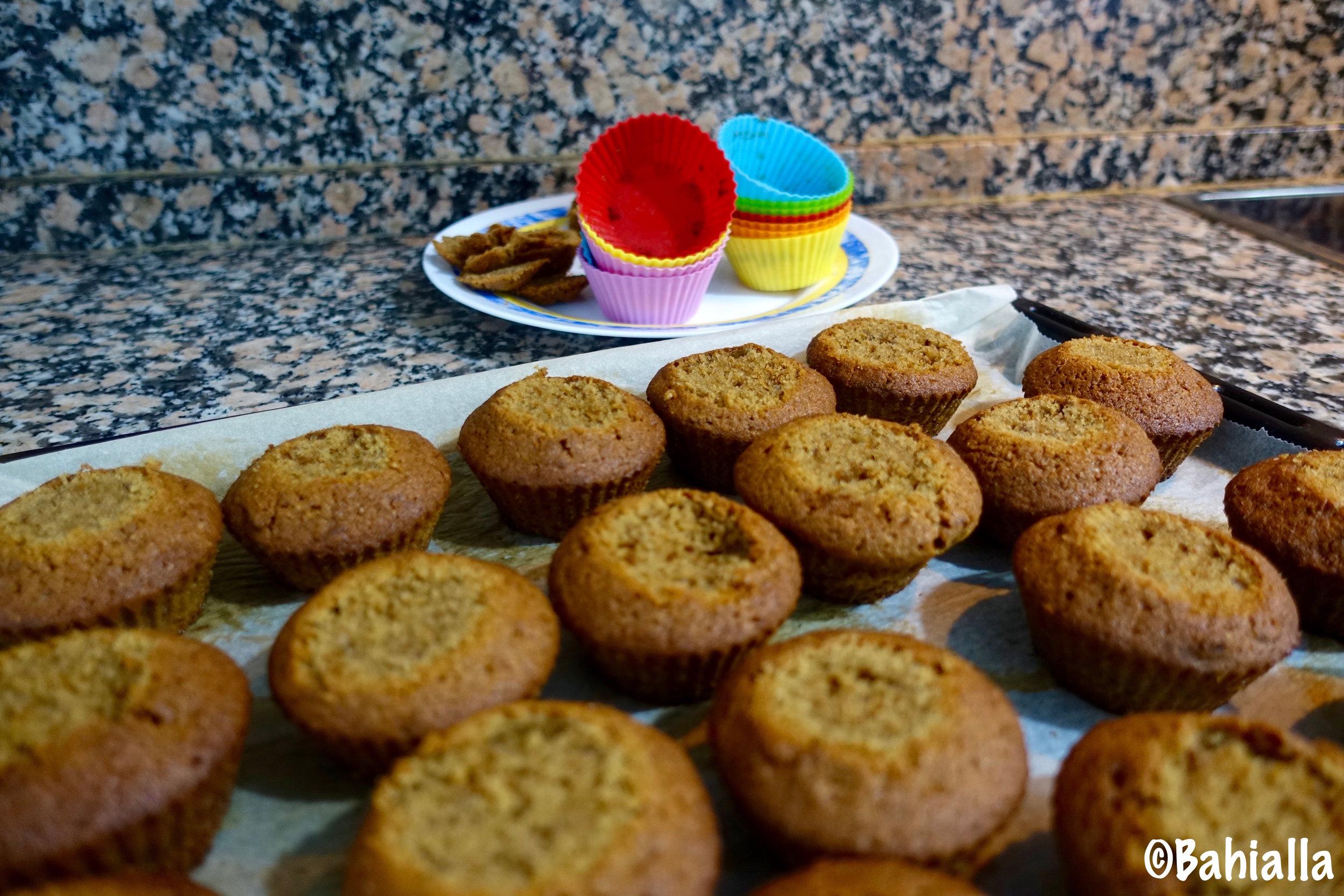 runeberg cake muffin