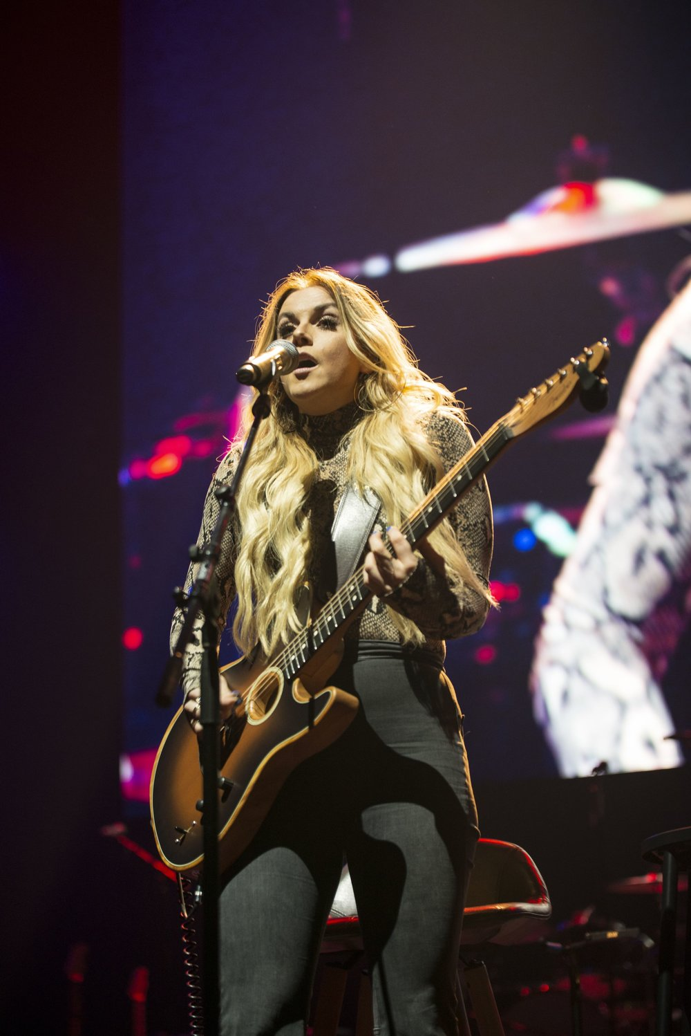 Lindsay Ell performs at Introducing Nashville during C2C Berlin on Saturday, March 2, 2019.