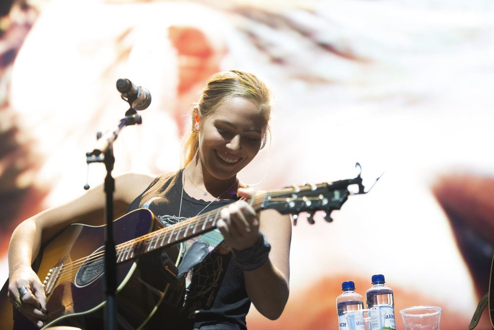 Lauren Jenkins performs at Introducing Nashville during C2C Berlin on Saturday, March 2, 2019.