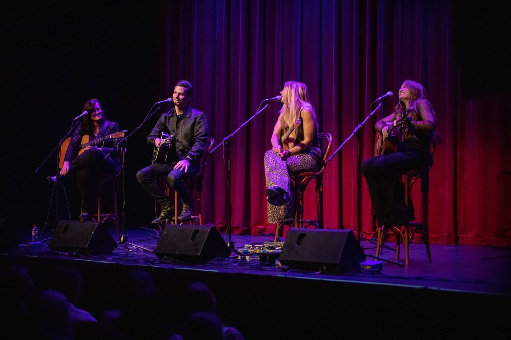 Introducing Nashville visits the Athenaeum Theatre in Melbourne, Australia on March 23, 2019 featuring Brandy Clark, Davin Dawson, Lindsay Ell and Tenille Townes.