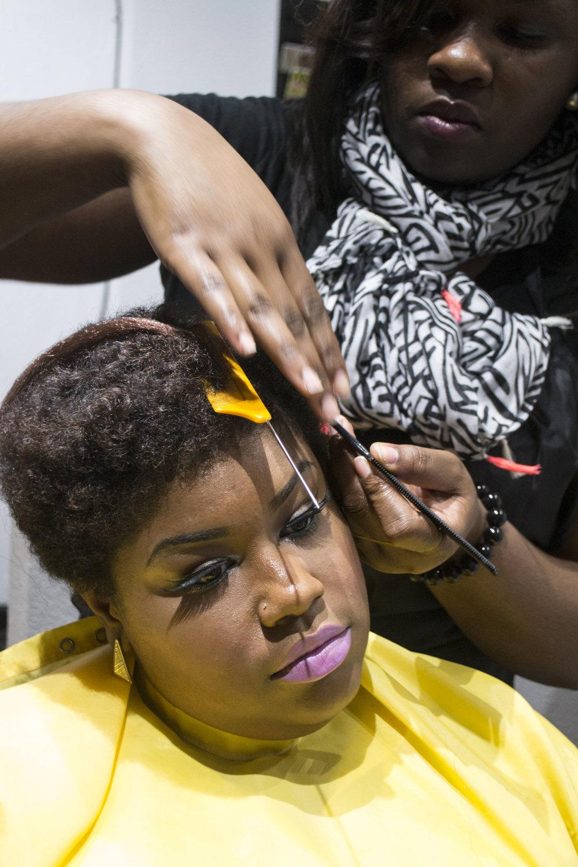 Hairstylist: Raylona Brown, Client: Glyneisha Johnson, Photographer: Silvia Abisaab