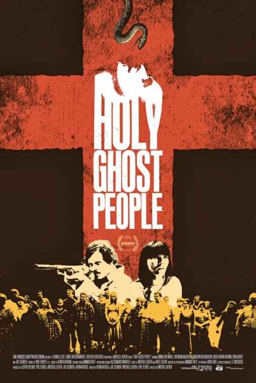 Holy Ghost People - On the trail of her missing sister, Charlotte enlists the help of Wayne, an ex-Marine and alcoholic, to infiltrate the Church of One Accord - a community of snake-handlers who risk their lives seeking salvation in the Holy Ghost.Post Production Facilities Provided by Anthem Films* * *Starring Emma Greenwell, Joe Egender, and Brendan McCarthyDirected By Mitchell AltieriWritten By Mitchell Altieri, Phil Flores, Joe Egender, and Kevin ArtigueProduced By Jeffrey Allard, Mitchell Altieri, Phil Flores, Joe Egender, and Kevin ArtigueDirector of Photography Amanda TreyzEdited By: Mitchell Altieri and Brett Solem* * *