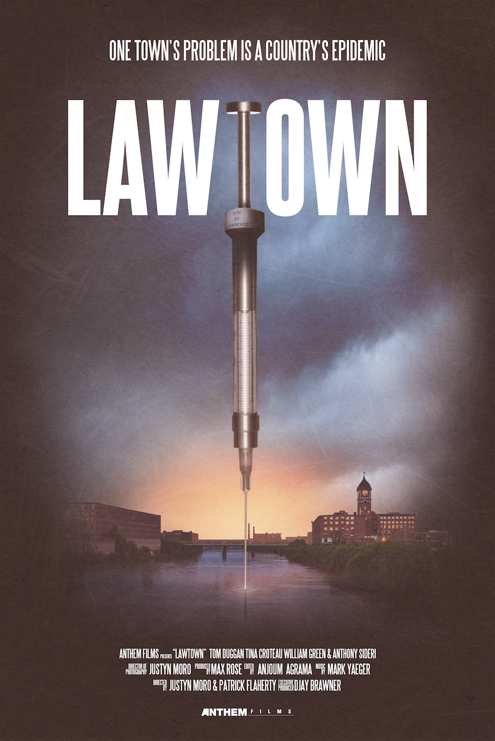 LAWTOWN - Lawtown explores the country's current opioids epidemic by focusing on the community members of Lawrence, Massachusetts, a blue collar town and gateway city at the heart of the crisis. Lawerence struggles to find balance between a corrupt government and the cartels. The story of Lawtown focuses on four people affected by the opioid problem and how they are working to clean up the city, for better or for worse.Directed By Justyn Moro & Patrick FlahertyProduced By Max RoseProduced By Justyn Moro, Patrick Flaherty, and Nicole SwedlowExecutive Producer DJay BrawnerDirector of Photography Justyn MoroEdited By Anjoum AgramaOriginal Score By Mark Yaeger