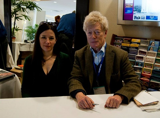 Julietter Aristidesand Roger Scruton, Photo by Brittany McGinley
