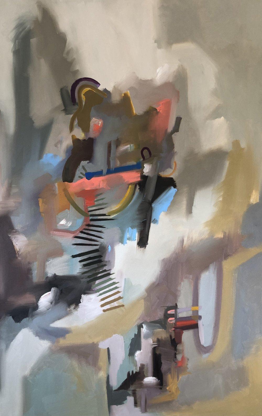 Organized Chaos,  2018. Oil on canvas. NFS