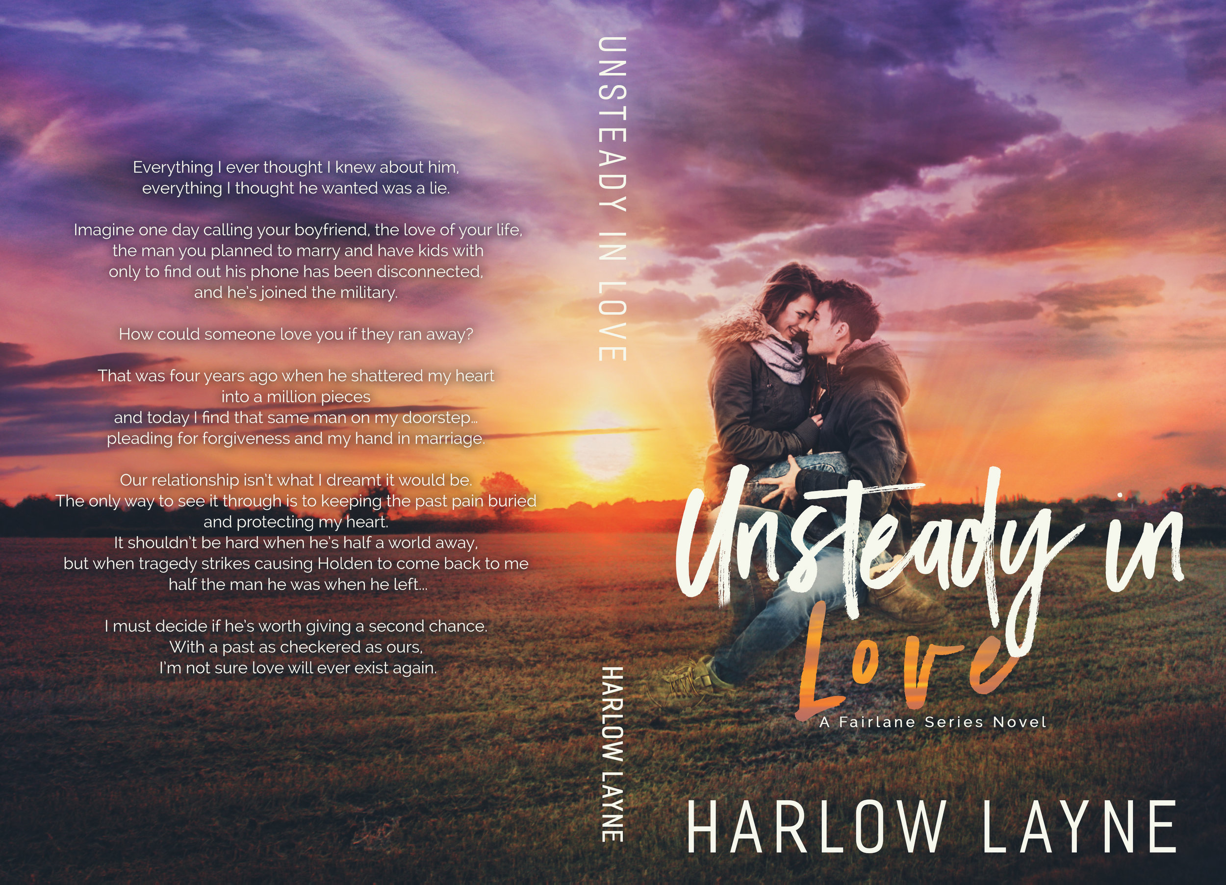 UNSTEADY IN LOVE IS LIVE!!! — Harlow Layne